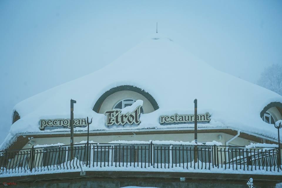 Ресторан Тироль сети отдыха Сион Тур