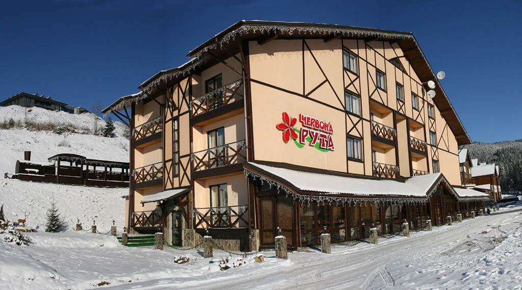 Отель Червона Рута в Карпатах