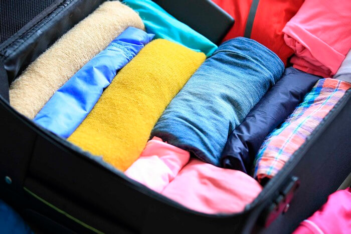 Зібрати валізу у подорож